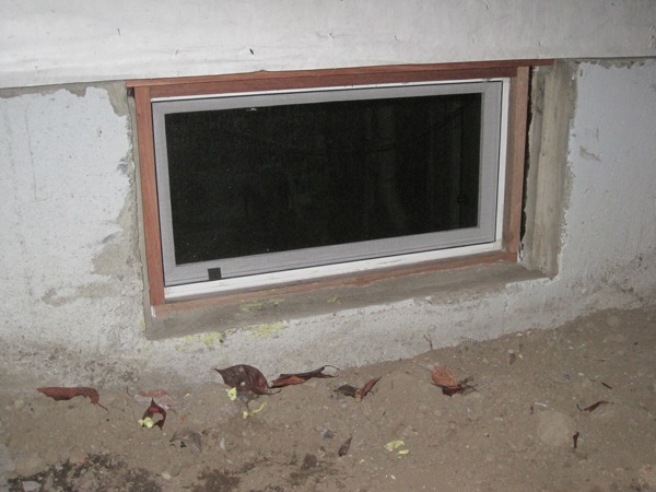 Window installation how to install basement window for Basement windows